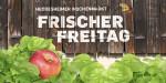 """Logo des Wochenmarktes """"Frischer Freitag"""""""