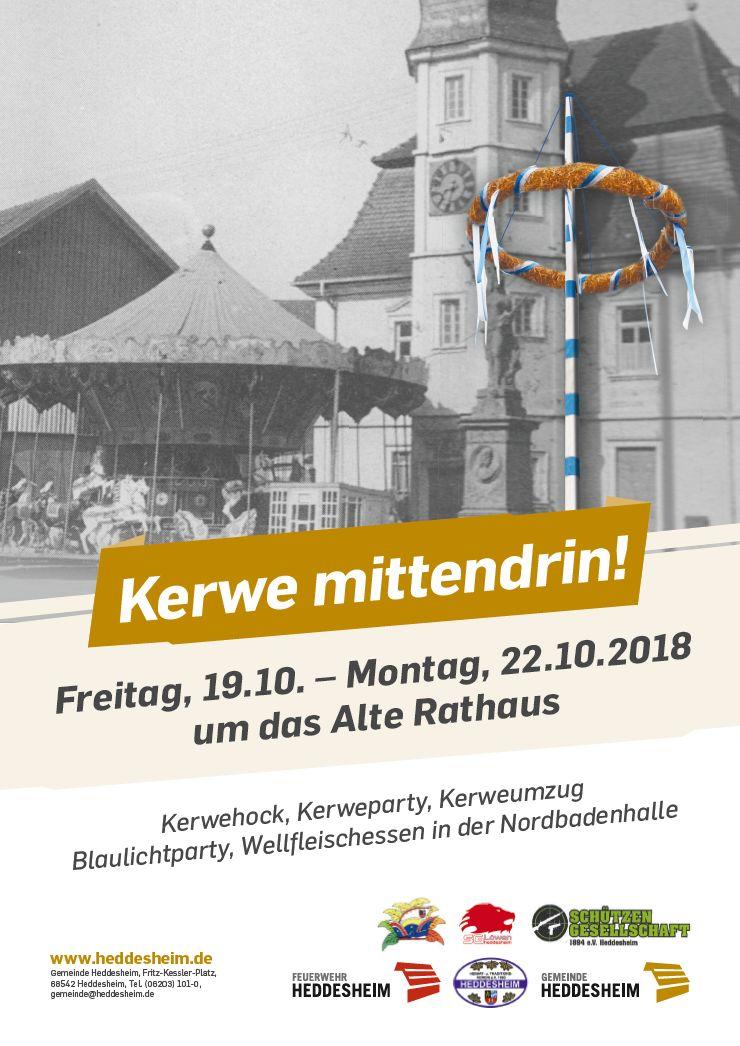 Kerwe 2018 Plakat